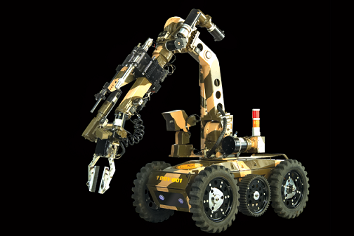 India's Army Solving Bomb Problems With Daksh Robots