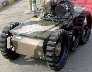Daksh Counter-IED Robot